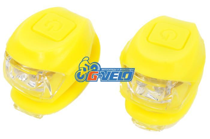 Vinca Sport, Комплект силиконовых фонарей, желтый VL 267-2B Kids (Y)
