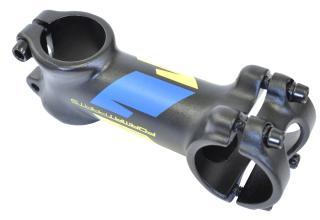 Вынос руля FORMAT KALLOY AS-007, черный, 31,8мм, 28,6мм, угол 7, 41мм, длина 90мм, желто-син графика