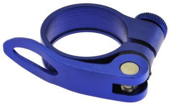 Эксцентрик подседельный с хомутом  ø 34.9 mm (Материал:алюм.;Цвет:violet) AS-17+SQ-133