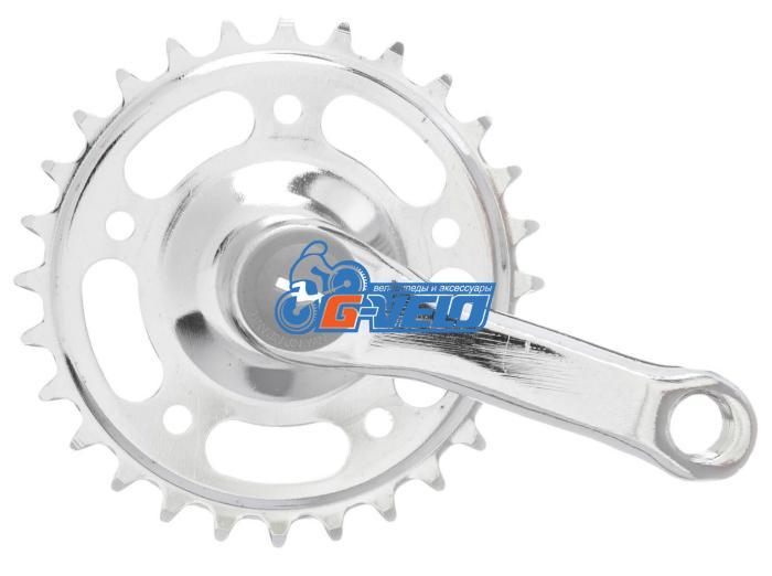 Система Prowheel 28T, 89мм, хром