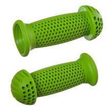 """STG Грипсы GR112 100 мм, зеленые, """"грибочки"""", для самоката и вело"""