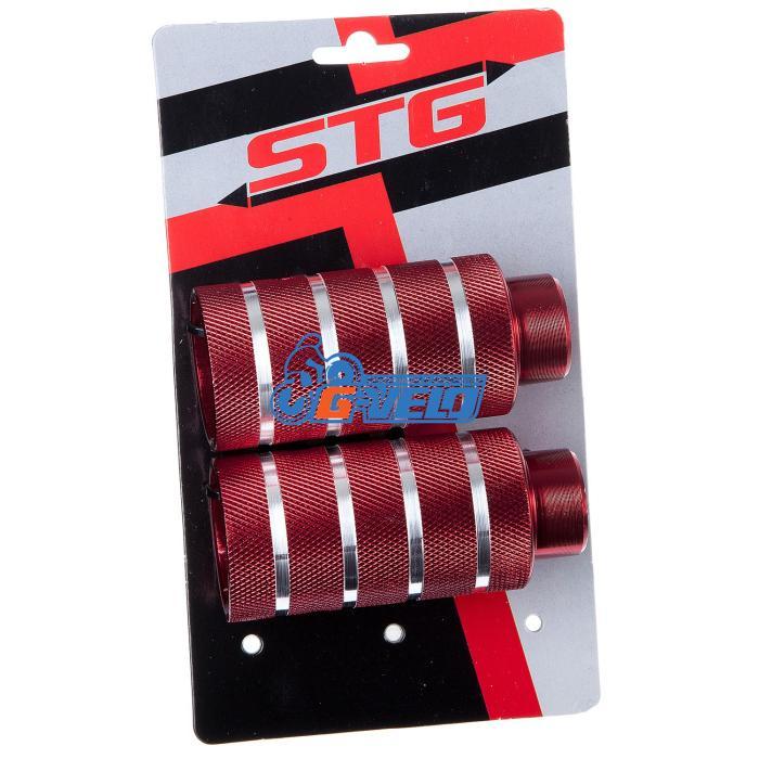 Пеги STG, алюм., 50×110 3/8×26T, красные