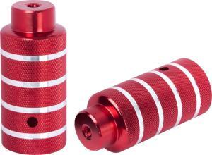 Пеги STG, алюм., 38×100 3/8×26T, красные