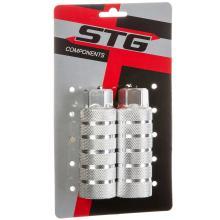 Пеги STG PG05, алюм., 38×100 3/8×26T, ось 14 мм, Серебристые