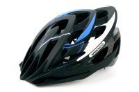 Велошлем VENZO F26M-010 черный/синий