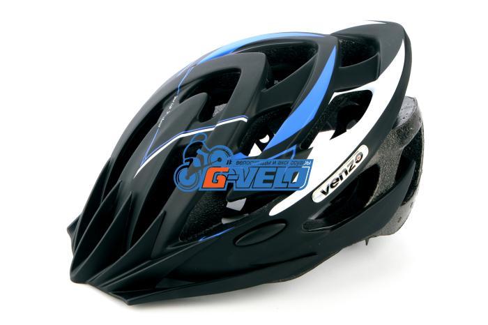 Велошлем VENZO F26M-010 синий, M, 53-57 см