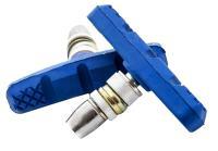 Колодки Vinca sport для V-brake 60мм, VB 262 blue, синие