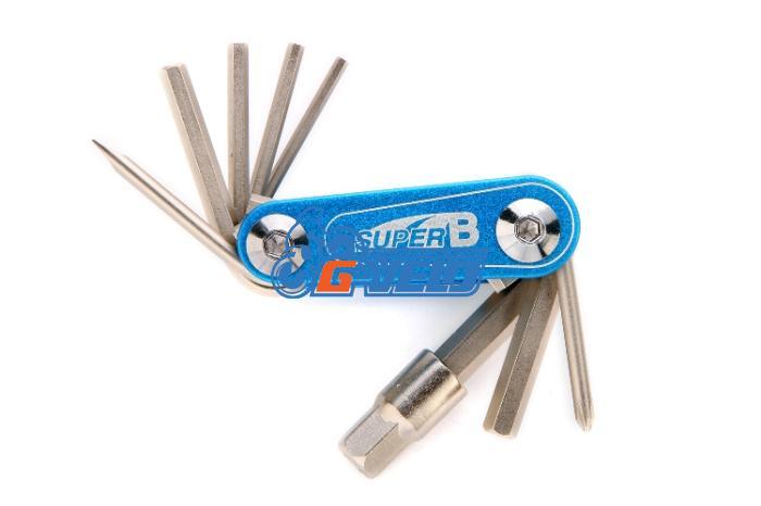 Складной набор инструмента 9 в 1, SuperB 9910