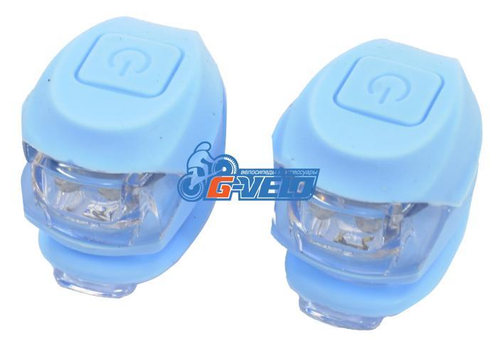 Vinca Sport, Комплект силиконовых фонарей, голубой VL 267-2B Kids (LB)