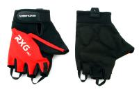 Велоперчатки VENZO VZ-F29-003 короткие пальцы, красные