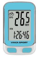 Vinca Sport, Компьютер беспроводной, 12 функций, синий, инд.уп. V-3600 blue