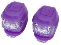Vinca Sport, Комплект силиконовых фонарей, фиолет. VL 267-2B Kids (V)