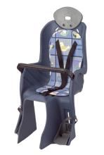 Кресло детское, крепление на багажник, нагрузка до 22 кг (размер 310x750x310 mm) YC-841 gray