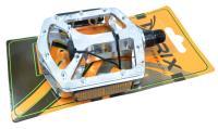 Педали TRIX (Материал:алюминий/сталь;Размер:99x108mm) MTB,BMX,на блистере MX-P807