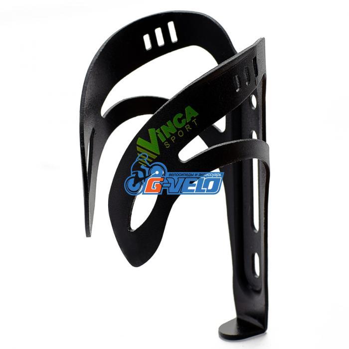 Vinca Sport, Флягодержатель алюминиевый черный, HC 12 black