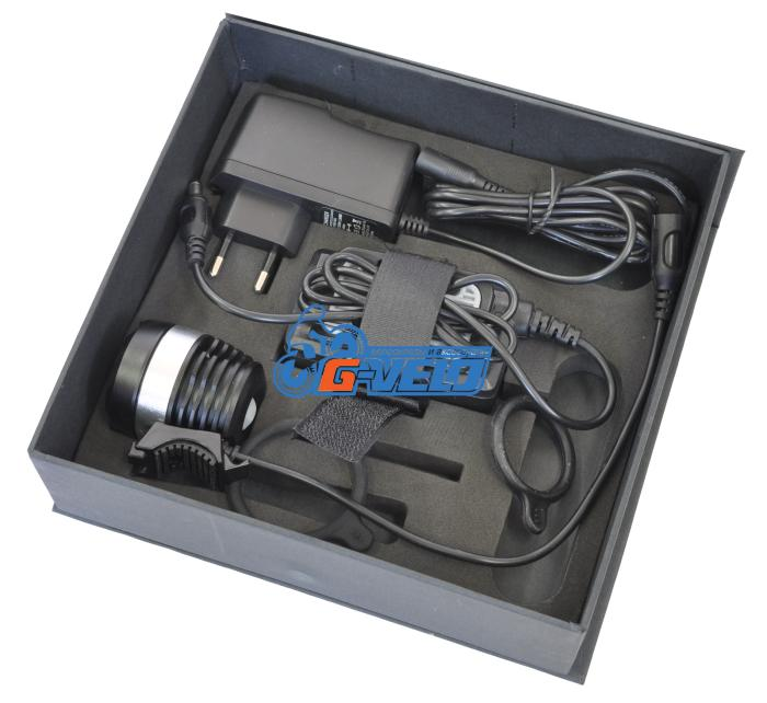JING YI, Фара велосипедная JY-8020, 500 lum, зарядное устройство
