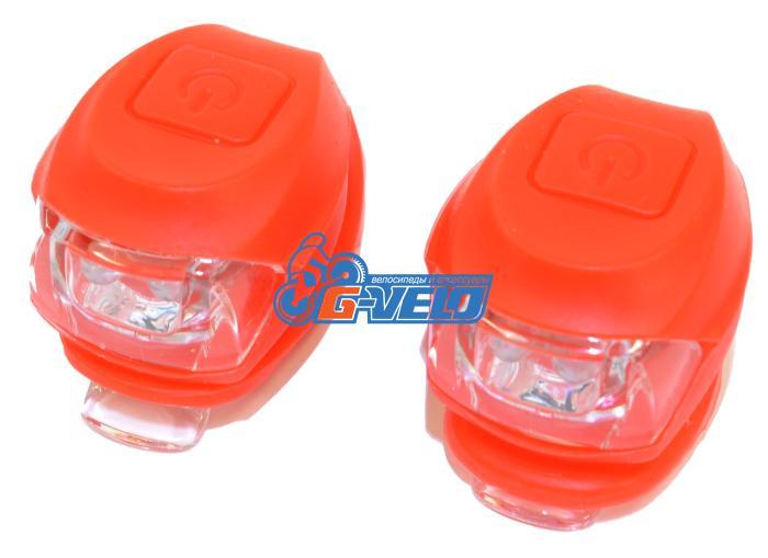 Vinca Sport, Комплект силиконовых фонарей, красный VL 267-2B Kids (R)