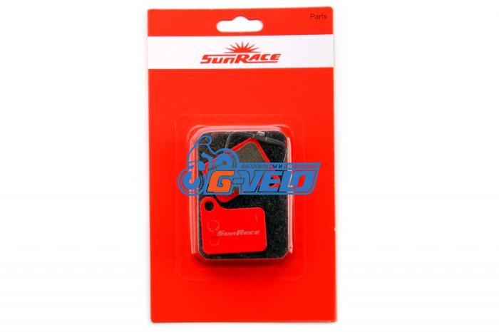 Колодки диск SunRace для Shimano BR-M555/C901 с пружинкой