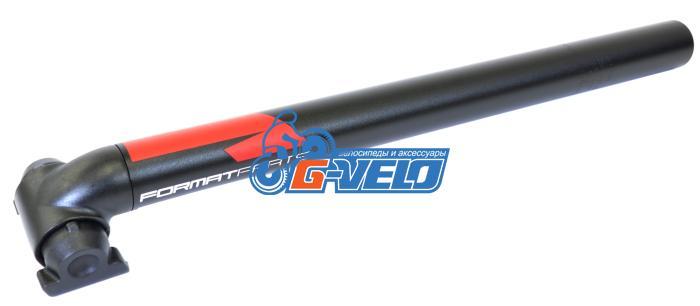 Подседельный штырь FORMAT KALLOY SP-612N, черный, 31,6*400мм, красно-белая графика NEW