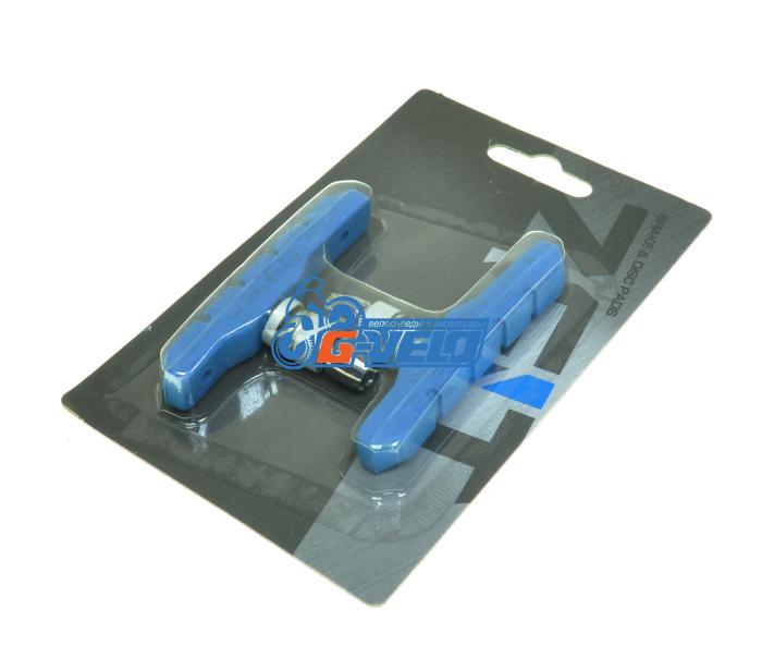 Колодки V-brake ZEIT Z-613 72 мм синие