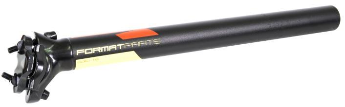 Подседельный штырь FORMAT KALLOY SP-DC1, черный, 30,4*350мм, красно-желтая графика NEW