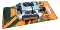 Педали TRIX (Материал:алюминий/сталь;Размер:103х78mm) MTB,BMX,на блистере MX-P805