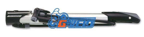 Велонасос GIYO GM-61 mini pump алюминиейвый, с манометром, Т-обр.ручка, шланг