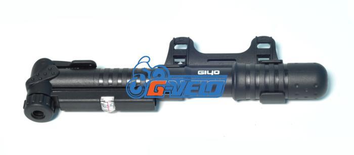 Велонасос GIYO GP-41 mini pump пластик с манометром
