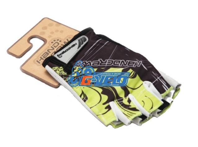 Велоперчатки SS-12 green