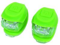 Vinca Sport, Комплект силиконовых фонарей, зеленый, VL 267-2B green