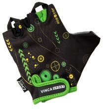 Велоперчатки детские Vinca Sport черные, VG 936 child robocop