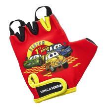Велоперчатки детские Vinca Sport красные, VG 940 child cars