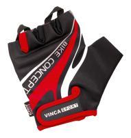 Велоперчатки Vinca Sport, VG 949 black/red