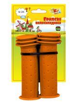 Грипсы детские, Vinca Sport, 102мм, оранжевые, H-G 96 skater orange