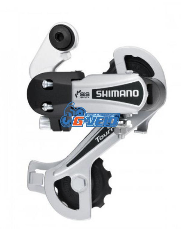 Задний переключатель Shimano Tourney RD-TY21-B SS под болт, серебро