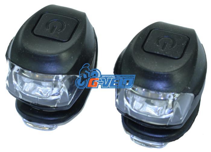 Vinca Sport, Комплект силиконовых фонарей, черный, VL 267-2B black