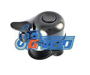 Звонок ударный SunnyWheel RIN-650-BK черный