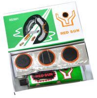 Велоаптечка, заплатки 36 шт. (25*35 мм), клей, RED SUN