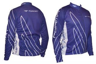 Футболка велосипедиста FORMAT синие, размер M