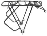 Багажник алюминиевый регулируемый 24-28, HLYJ-D3-2, черный