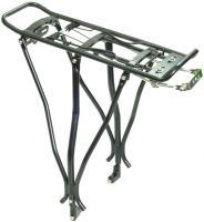 """Багажник AST под дисковые тормоза, алюминиевый с клипсой, регулируемый 26-29"""", 3002"""
