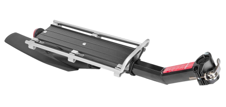 """Багажник TRIX консольный, алюминиевый 20""""-29"""", с крылом, на эксцентрике, 603-10"""