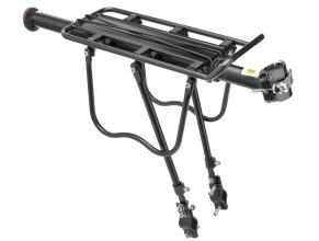 Багажник TRIX консольный на эксцентрике, алюминиевый с защитой, доп. упорами