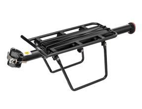 Багажник TRIX консольный на подсед. штырь, алюм. с бок. защитой, BLF-H31