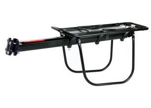 Багажник Vinca Sport консольный, алюминиевый, на 4х болтах, с доп. дугами, с клипсой, H-AL 19-1