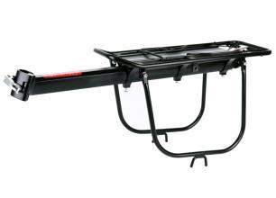 Багажник Vinca Sport консольный, алюминиевый, на эксцентрике, с доп. дугами, с клипсой, H-AL 19