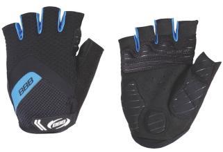 Велоперчатки BBB, HighComfort Gel, black/blue