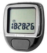 Велокомпьютер BEETLE-1 черный, 5 функций, проводной