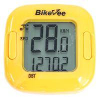 Велокомпьютер BikeVee, проводной BKV-2001, 13 функций, желтый