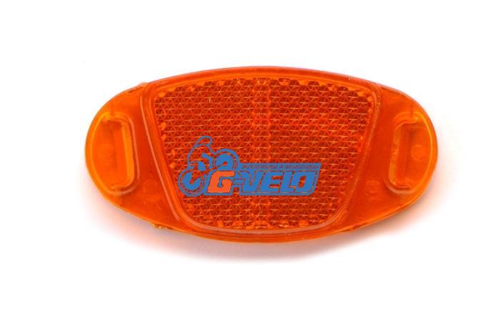 Катафот колесный оранжевый